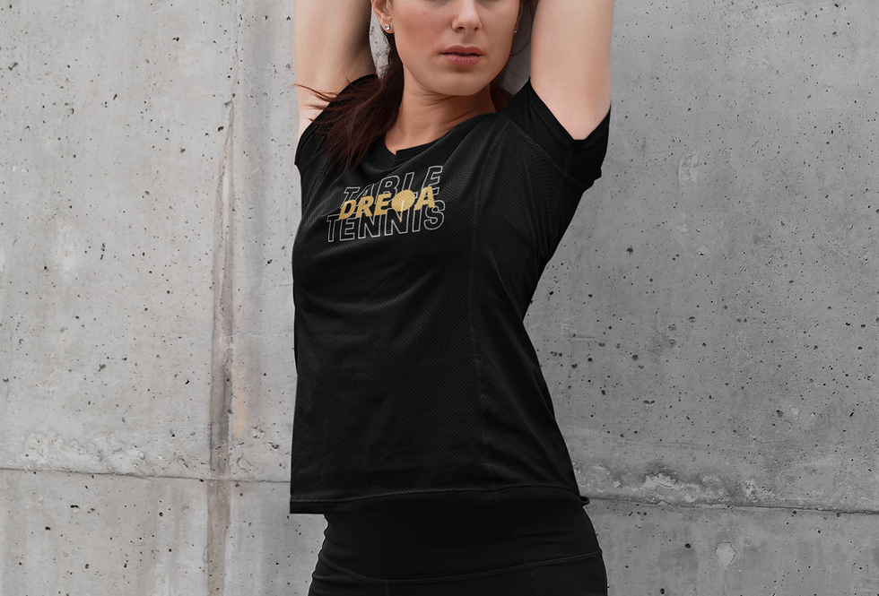 DREQA Table Tennis Wear Women's T-shirt