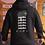 Thumbnail: DREQA Black Japanese-Insp Unisex Sweatshirt