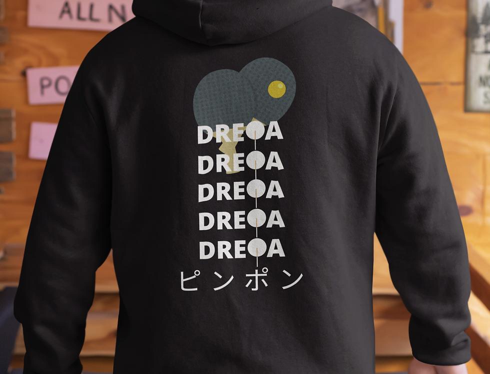DREQA Black Japanese-Insp Unisex Sweatshirt