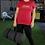 Thumbnail: DREQA Table Tennis Wear Red Women's T-shirt