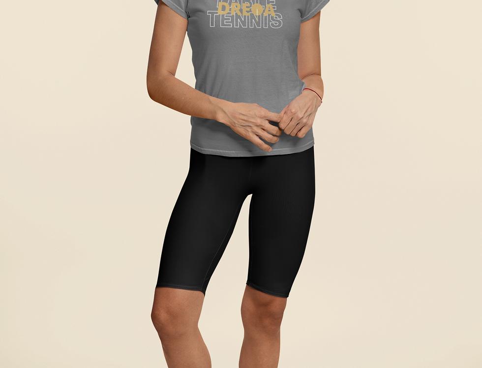 DREQA Table Tennis Wear Grey Women's T-shirt