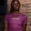 Thumbnail: DREQA Table Tennis Wear Purple Women's T-shirt