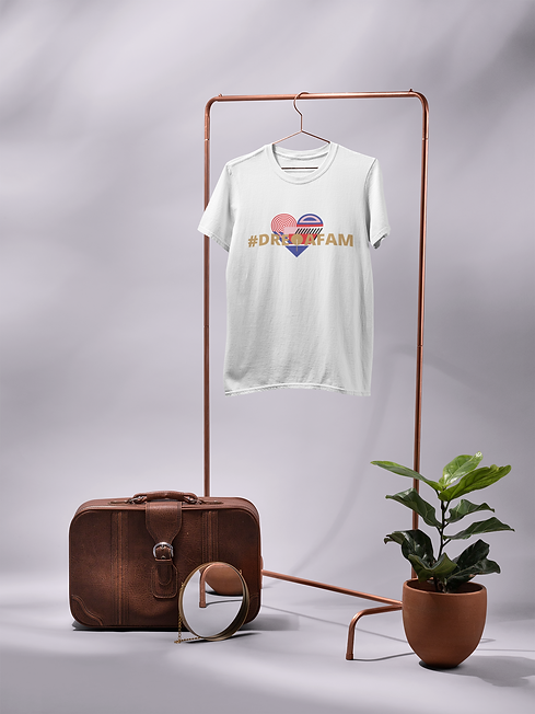 t-shirt-mockup-hanging-from-a-rack-next-