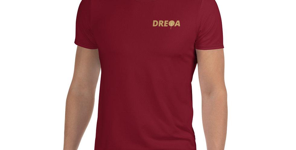 DREQA Marron Table Tennis Wear Men's T-shirt