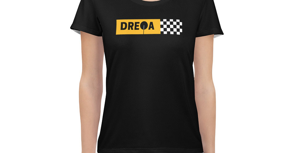 DREQA Checkerboard Women Black Ping Pong