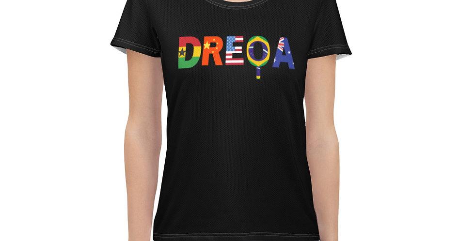 DREQA Black National Women's Ping Pong wear