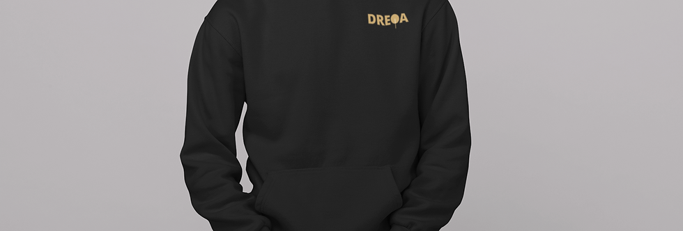 DREQA Logo Unisex fleece hoodie