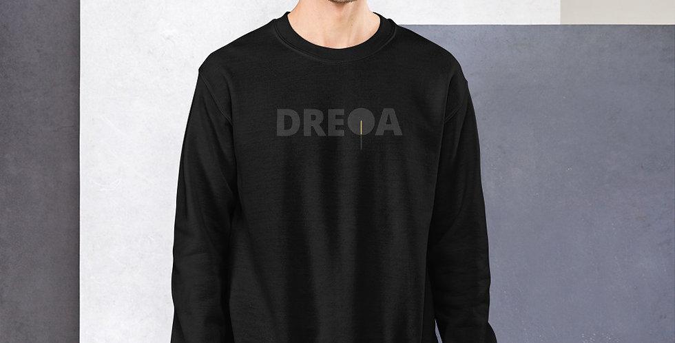 DREQA Exclusive Black Logo Sweatshirt