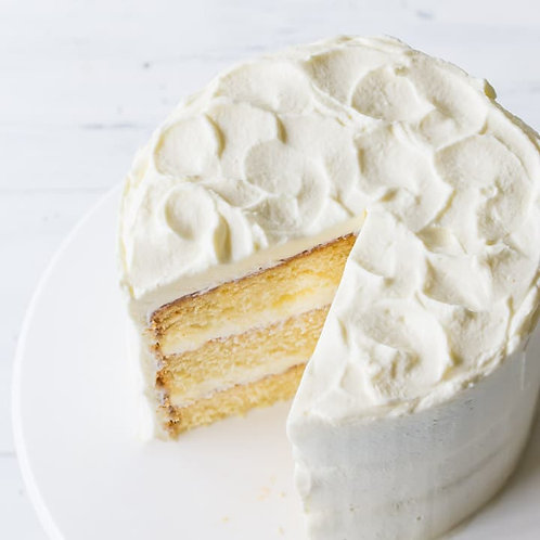 "6"" Vanilla cake"