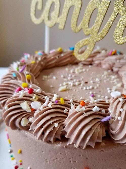 "6"" chocolate cake"