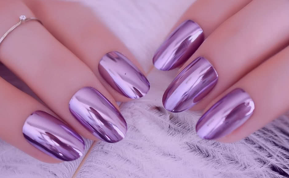 Дизайн ногтей Втирка
