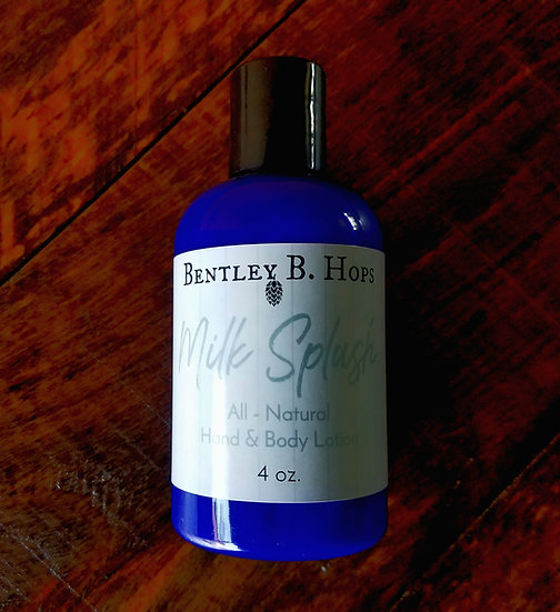 Bentley B. Hops All-Natural Hand and Body Lotion