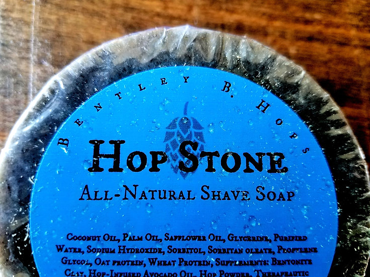 Hop Stone - Bentley B. Hops All-Natural Shave Soap