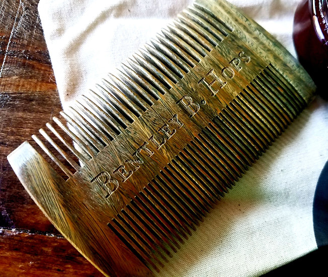 Bentley B. Hops Sandalwood Beard Comb