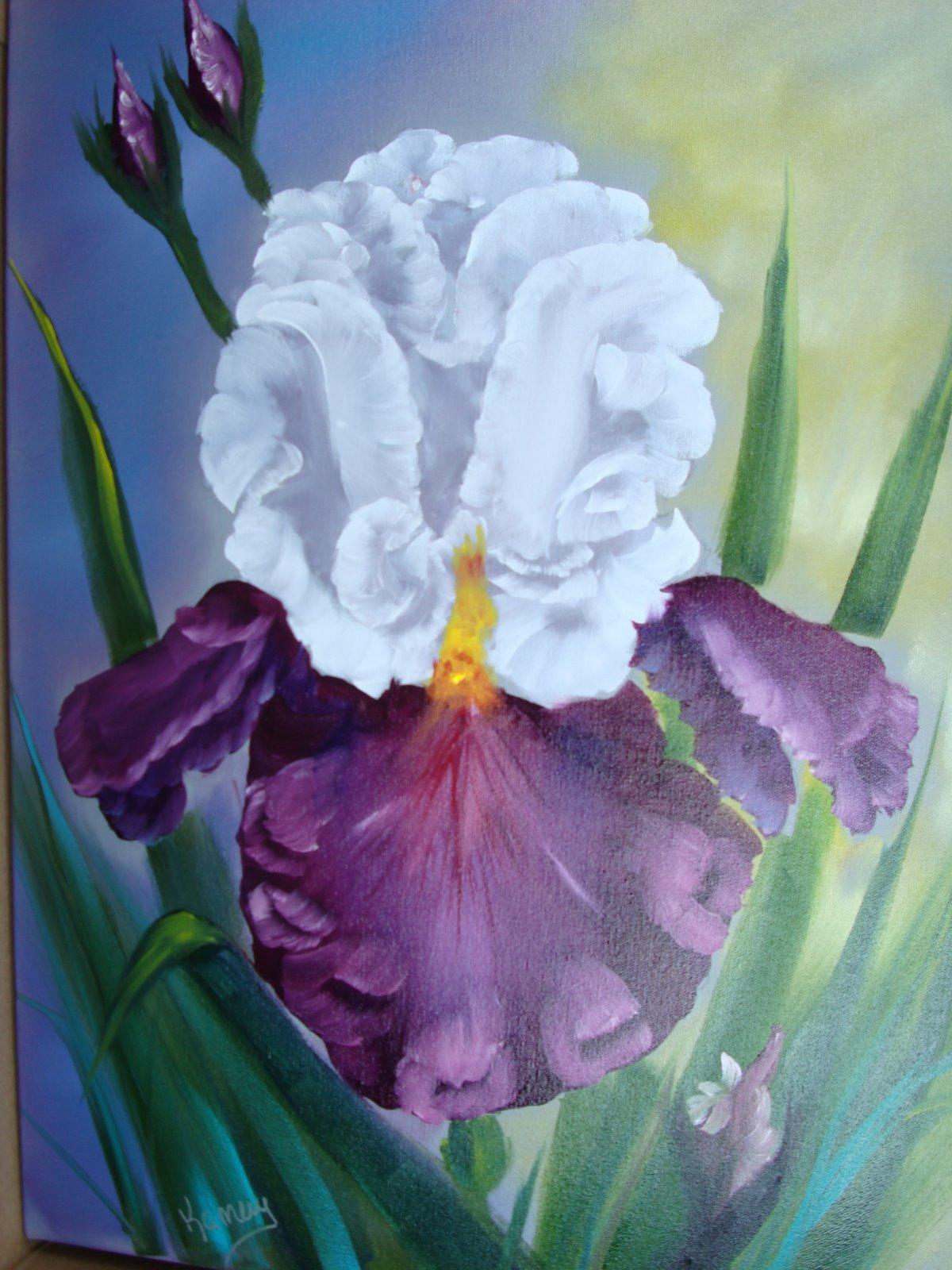 FL 1004 The Iris 18 x 24