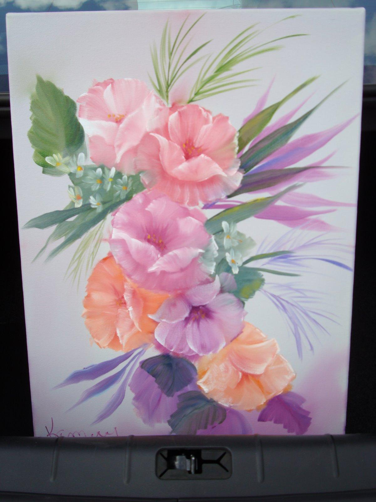 FL 1002 Fancy Flowers 18 x 24