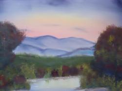 LS 1001 16 x20 Purple Mountains