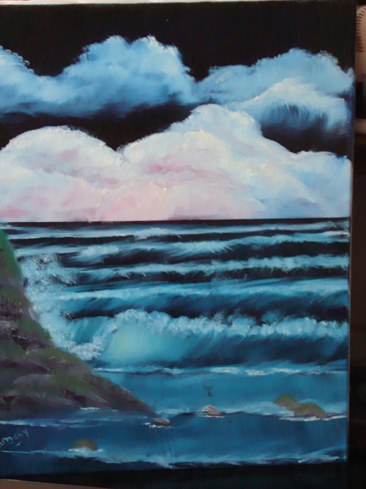 Stormy Seas SEA 1001 16 x20