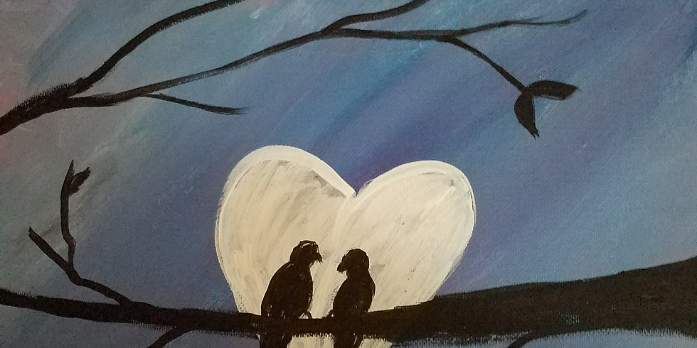 2 Hooters Peoria   Family & Friends Paint Night