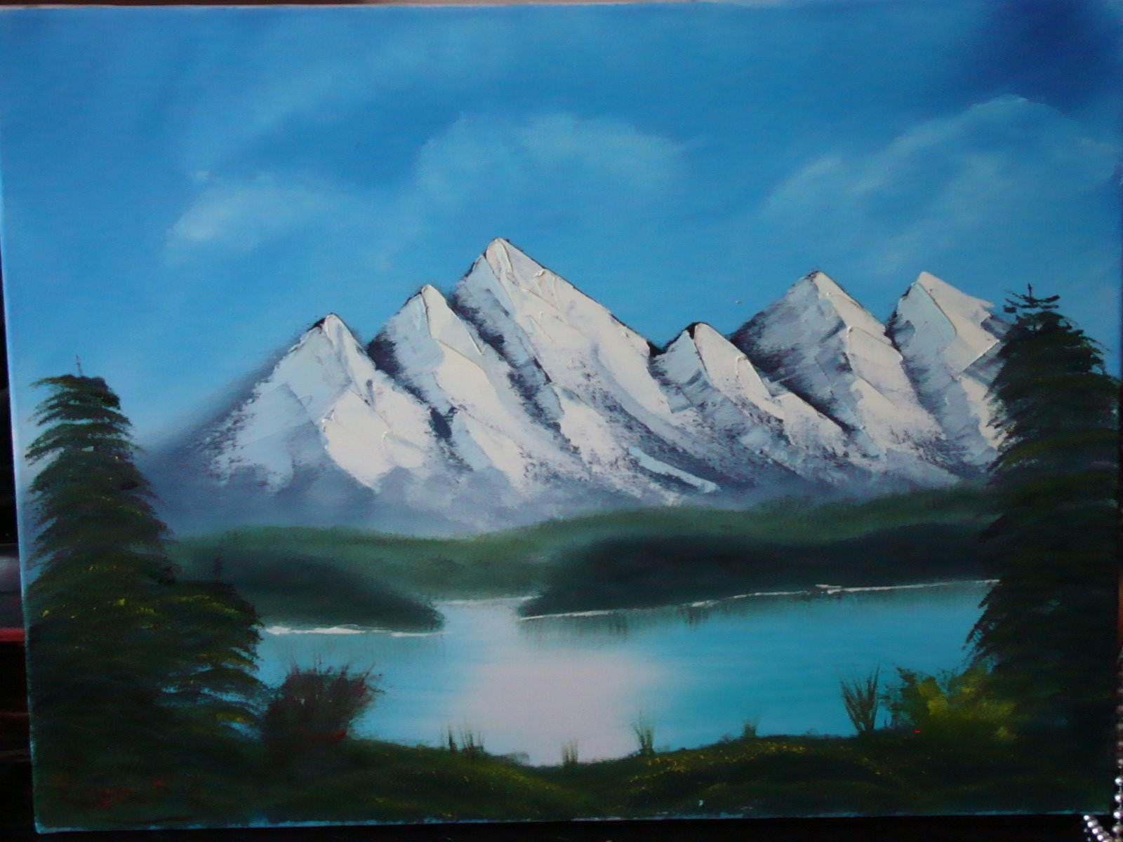 LS 1015 Many Mountains 18 x 24