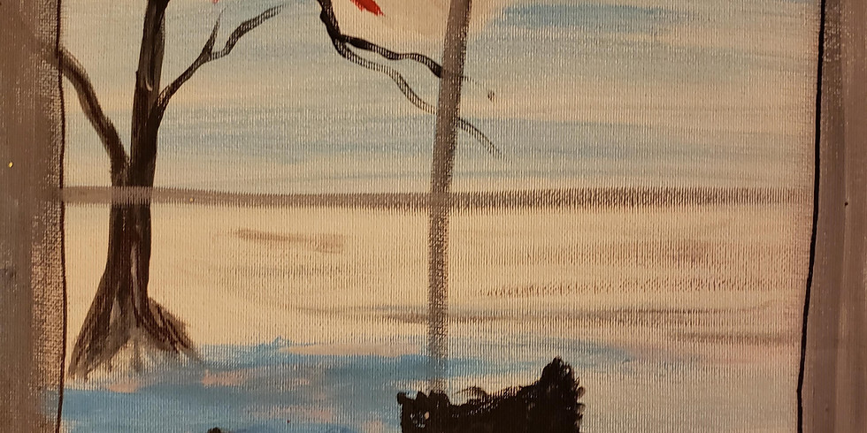 1 Hooters Peoria   Family & Friends Paint Night