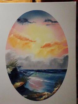 SEA 1006 Bright oval 18 x 24