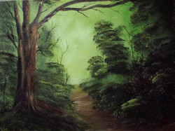LS 1005 Gree Forest 18 x 24