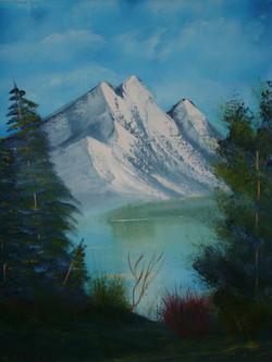 16x20  Basic Mountains _LS 1031