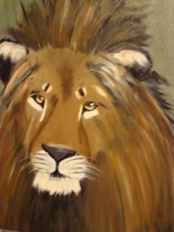 WL 1001 The Lion 18 x 24