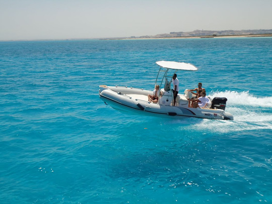 speed boat and paradise island hurghada