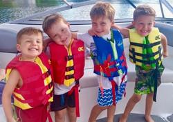 Cousins making summer memories