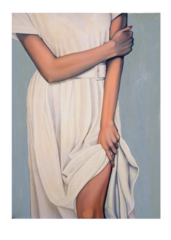 """""""Lady In A White Dress"""""""