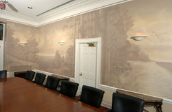 Mural at the Governor's mansion