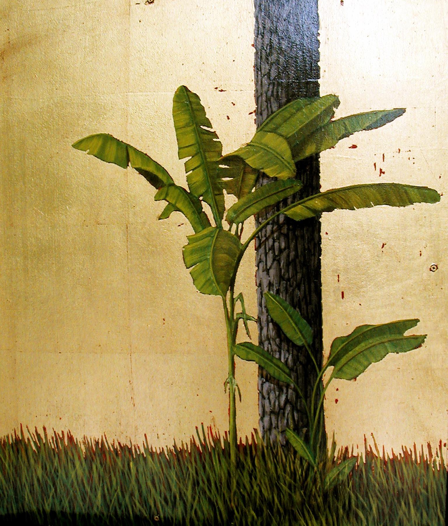"""Banana Tree with Pine"""