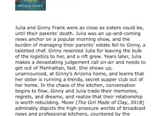"""Heartwarming story."" - Booklist"