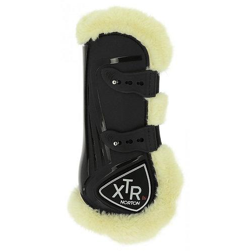 Norton - Guêtres XTR mouton synthétique noires