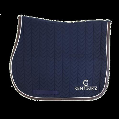 Kentucky - Tapis cuir Fishbone marine