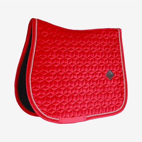 Kentucky- tapis de selle velvet rouge