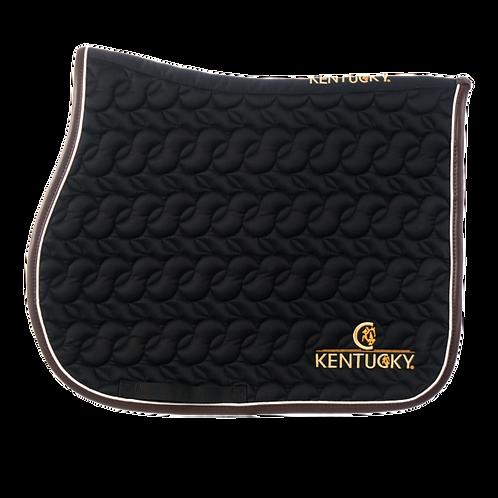 Kentucky - Tapis de selle noir