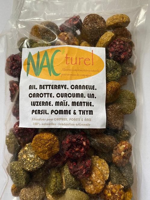 Nac'turel-  Friandises «méga mix» 500g