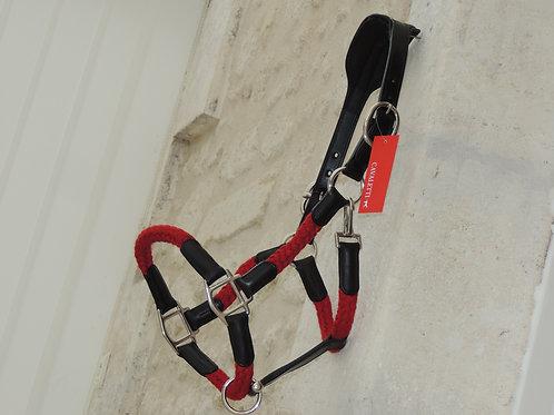 Cavaletti- Licol corde Tara rouge