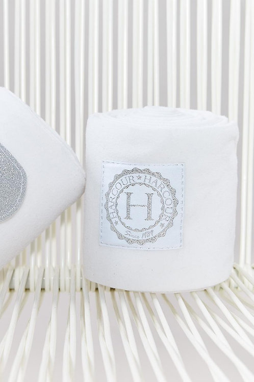 Harcour - Cornet Bande de polo blanche