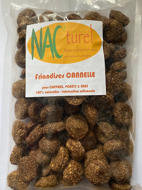 Nac'turel- Friandises cannelle 500g