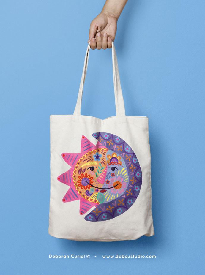 eclipse_tote_bag_illustrations_mexico_de