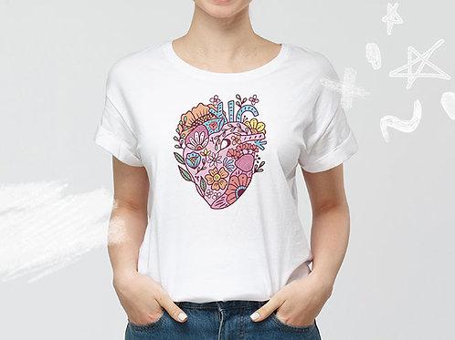 Playera - Corazón color