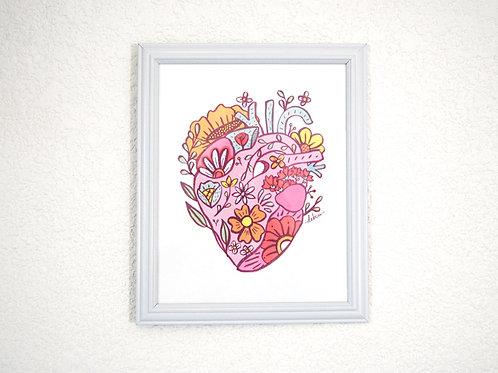 Print - Corazón