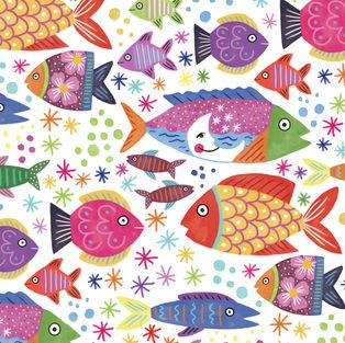 colorful fish Debcu