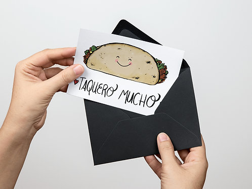 Tarjeta - Taquero Mucho