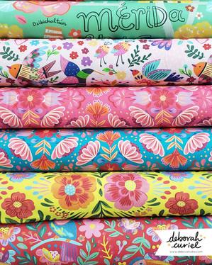 Fabric quilt / PBS Fabrics