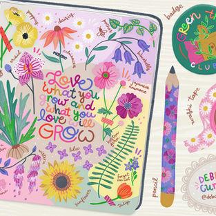 Gardening journal Debcu